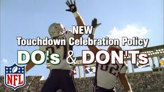 What TD Celebrations are Now Allowed Under the New Policy?   NFL