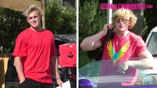 Jake Paul Speaks On Alissa Violet While Filming A Vlog With Brother Logan Paul 4.18.17