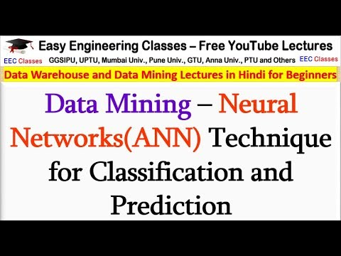 Data Mining – Neural Networks(ANN) Technique For Classification And Prediction