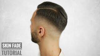 FADE TUTORIAL | Haarschnitt Tutorial Deutsch | SKIN FADE [ 4k ] Cerkin Barber
