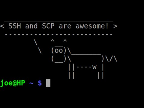 Use SSH and SCP to Manage Lots of Linux Machines