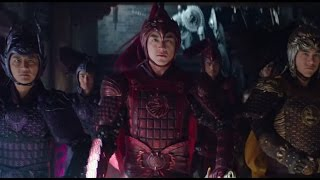 The Great Wall (2017): First Battle Scene HD