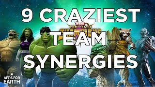 9 Craziest Team Synergies - Marvel Contest of Champions