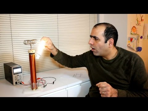 Slayer Exciter Circuit Using A Tesla Coil