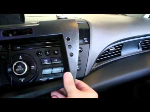 Bill's CarPC - Part 2 - CR-Z Car PC Dash
