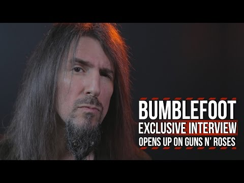 Bumblefoot Opens Up on Guns N' Roses