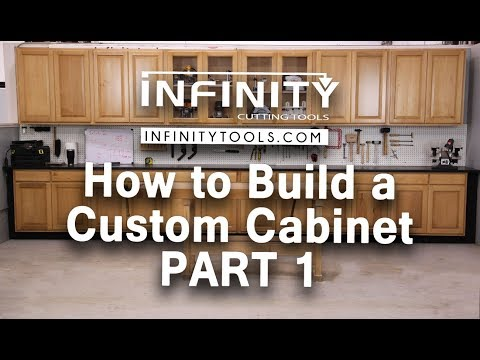 How to Build a Custom Cabinet - Part 1