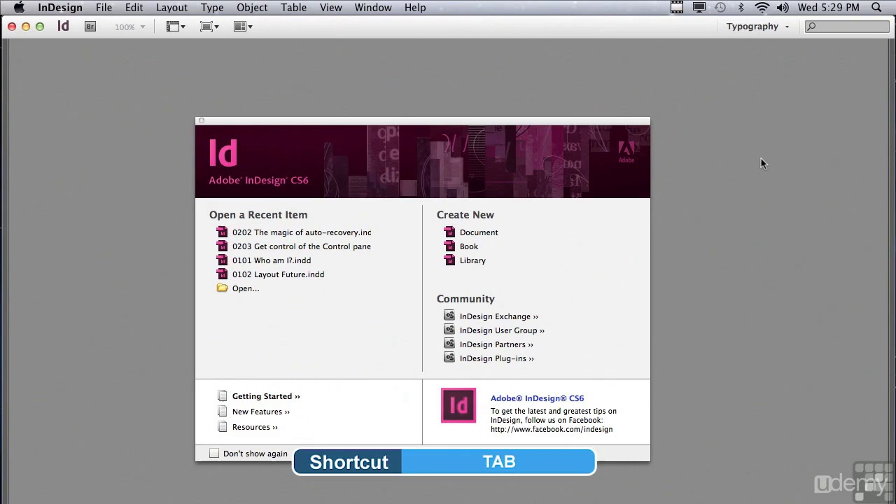 Adobe InDesign CS6 Tutorial - Beginners to Advanced Training : 0201  Customize The Workspace
