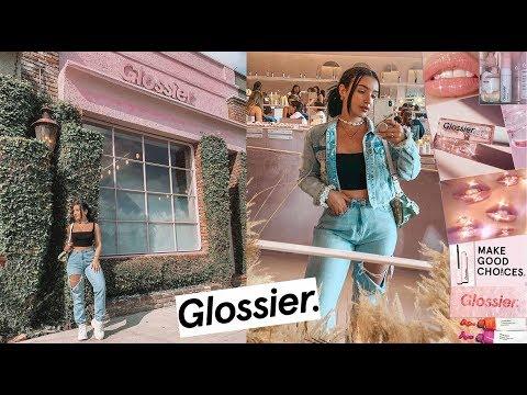 MY EXPERIENCE AT A GLOSSIER STORE | AMANDA ENSING thumbnail
