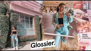 MY EXPERIENCE AT A GLOSSIER STORE   AMANDA ENSING