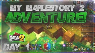 Jinli's MapleStory 2 Adventure Day 1 - Ten Hours of Grinding
