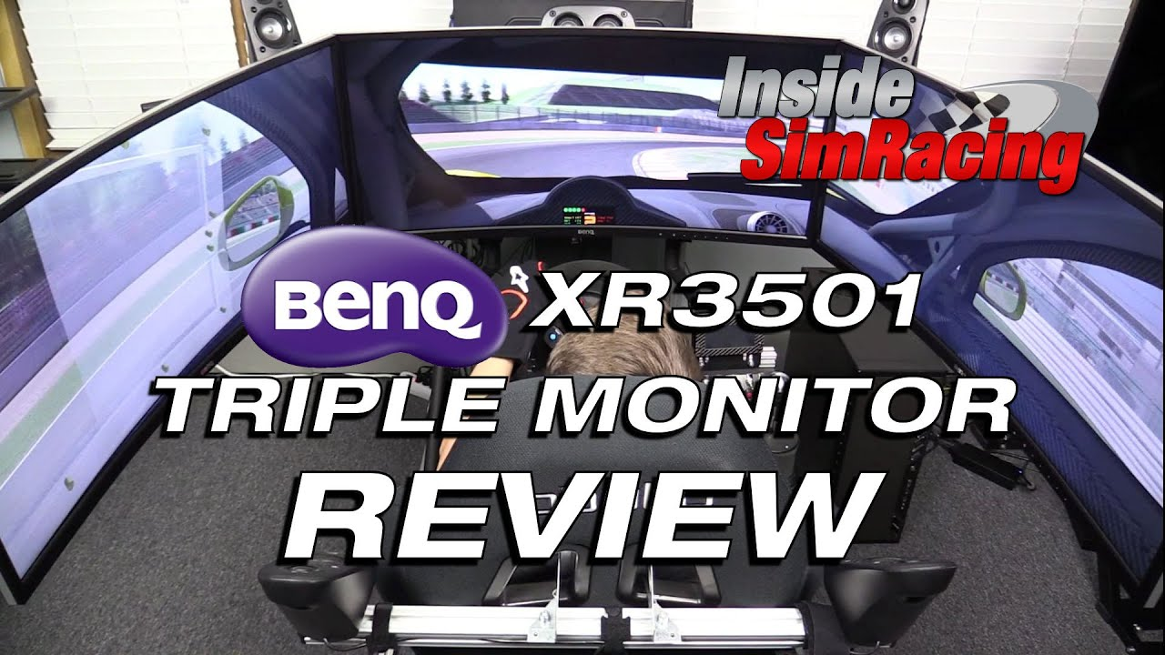 Benq Xr3501 Ultra Wide Triple Gaming Monitor Review Youtube