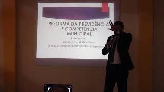 CURSO SOBRE REFORMA DA PREVIDÊNCIA DOS SERVIDORES PÚBLICOS