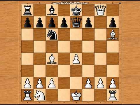 Kakve opasnosti prete u šahu na samom početku partije ~ KOHOUTOVA vs STODOLOVA # 1346