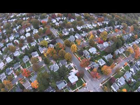 Huntington Rd, Garden City NY 11530 Halloween 2014 Drone