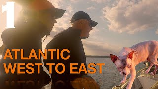 #epicmovie #goviral Atlantic, West to East. Part 1. Official Film!  Sailing Ocean Fox #146