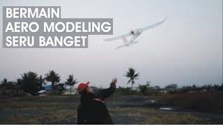 Aero Modelling Seru Banget Bermainnya. Ada Pesawat RAKITAN JUGA