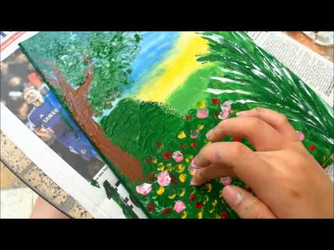 Finger Painting Creative Arts Assignment 2 Video Youtube