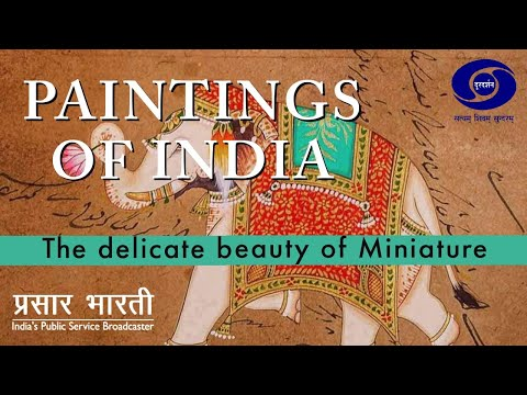 Painting of India - The Delicate Beauty of Miniature