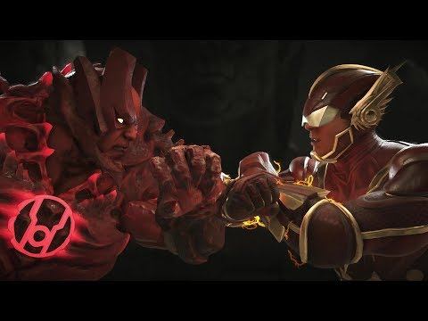 Injustice 2 : Atrocitus Vs Flash - All Intro/Outro, Clash Dialogues, Super Moves