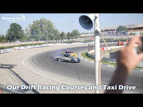 Drift Racing Courses and Taxi Driving.