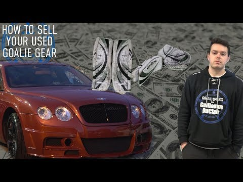 How To Sell Your Used Goalie Gear - Goalie Smarts Ep. 62