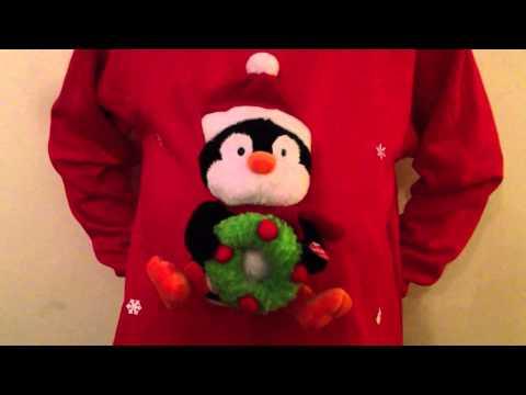 Musical Christmas Jumper Novelty