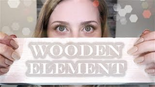 Wooden Element 🌳 ASMR • Soft Spoken