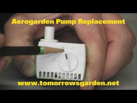 How To Replace The Pump On An Aerogarden