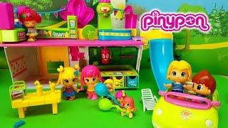 PINYPON BABIES AL PARCO GIOCHI - Le amiche di Mia , palloncini , episodi con bambole per bambini