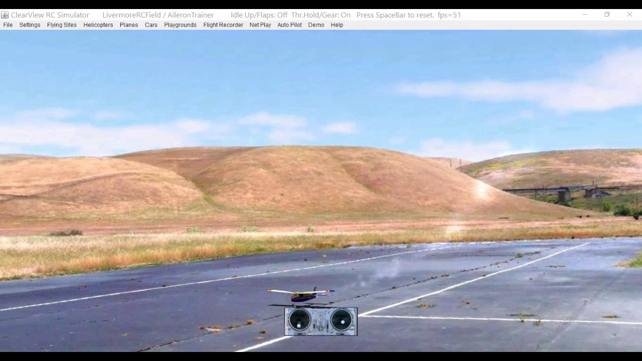 RC Basic Training - Circuits and Bumps with ClearView / Absolute RC sim -  YouTube