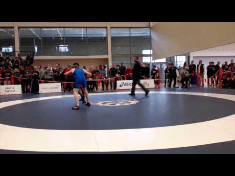 2015 Senior National Championships: 57 kg Aso Palani vs. Alex Moher