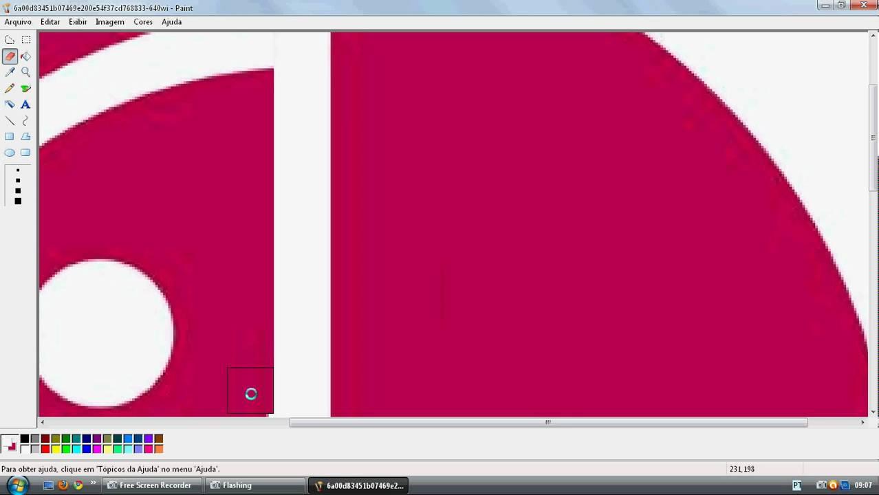 transformando o logotipo da lg num pacman youtube