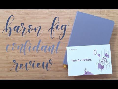 Review | Baron Fig Confidant
