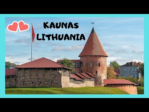 LITHUANIA: A walking tour of the beautiful city of KAUNAS