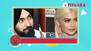 Diljit Fan of American Tv Actress Kylie Jenner || Latest Punjabi Celeb News | 22 SCOPE | Pitaara TV