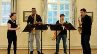 So We Too – saxophone quartet music