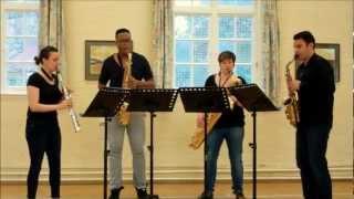 So We Too – saxophone quartet music