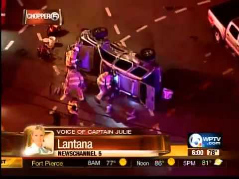 Crash in Lantana