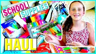 Back To School Supplies Haul 2017 - Come Shopping With Me!