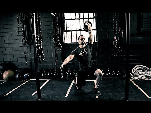 Total Body Kettlebell Workout for MMA Strength Created by ONNIT
