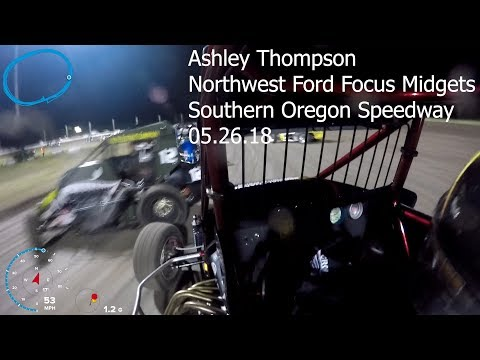 Ashley Thompson at Southern Oregon Speedway 5.26.18