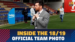 [BEHIND THE SCENES] Official photo 2018/19