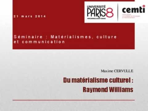 Raymond williams vs james carey communication