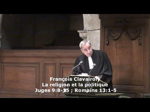 La religion et la politique (François Clavairoly)