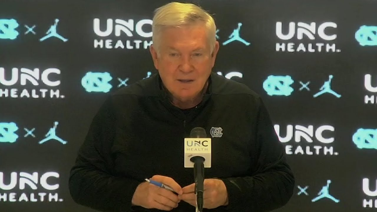 Video: Mack Brown Monday Postseason Press Conference
