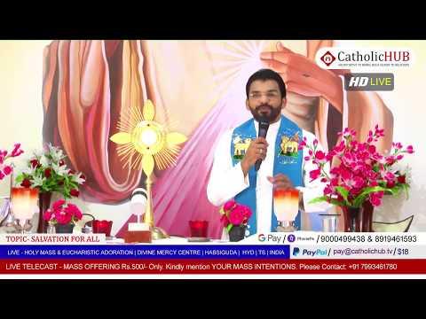 HOLY MASS | SALVATION FOR ALL | REV.FR.BENNY SVD | DMC | HABSIGUDA | HYD | TS | IND 04-05-2020
