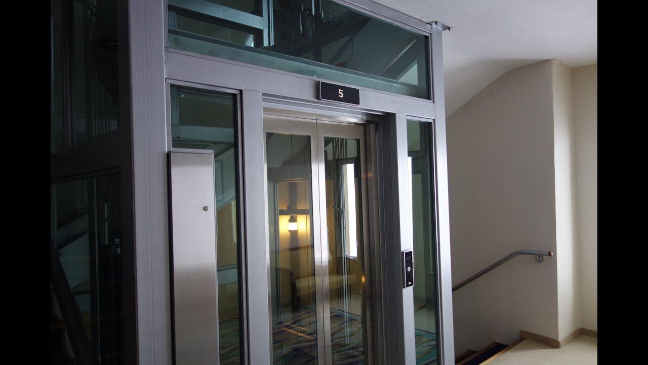 Amazing Glass Kone Monospace Elevator W D20 Fixtures At Grand Kartal Hotel You