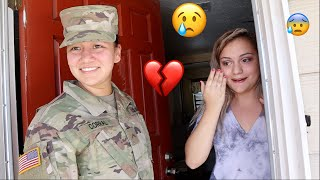 SURPRISING SOLDIER BACK HOME *GONE WRONG*