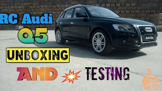 Rc Audi Q5 1:12 Scale Unboxing And Testing | Creation Nation India
